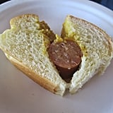 After one small taste of this artisanal hot dog with homemade mustard, I craved an entire dog!