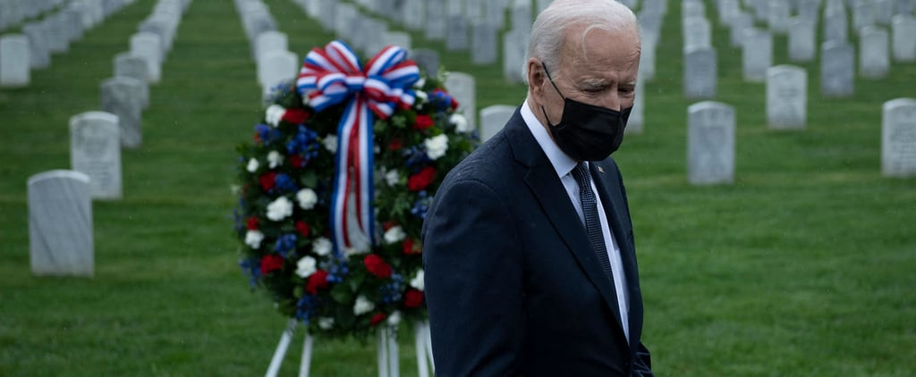 Joe Biden Says Visiting Cemeteries Reminds Him of Beau