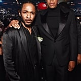 Pictured: Kendrick Lamar and JAY-Z