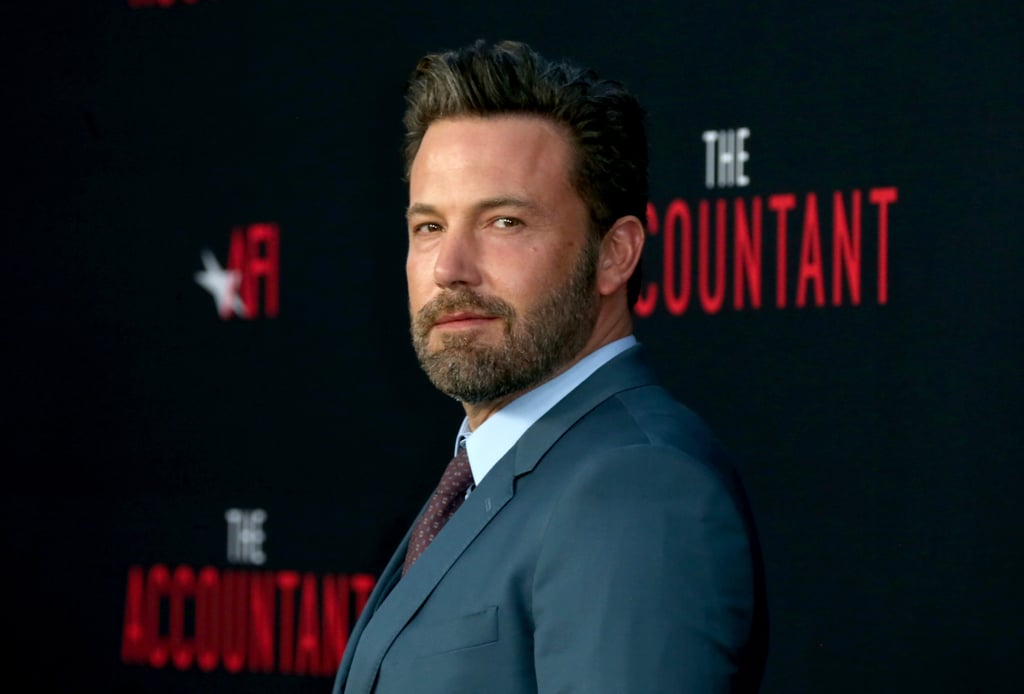 Ben Affleck looked sharp when he attended the LA premiere of The Accountant on Monday evening. The actor wore a blue suit and appeared to be in good spirits as he pointed and waved to fans on the red carpet. Earlier in the day, Ben was spotted out on a stroll with Jennifer Garner after the two dropped off their kids at school, adding to the many times they've been seen together since their split. Just a few days ago, Ben linked up with BFF Matt Damon at the Film Independent's live read in NYC, where the two reprised their Good Will Hunting roles with the help of John Krasinski.        Related:                                                                                                                                Matt Damon Burns Ben Affleck About Batman v Superman