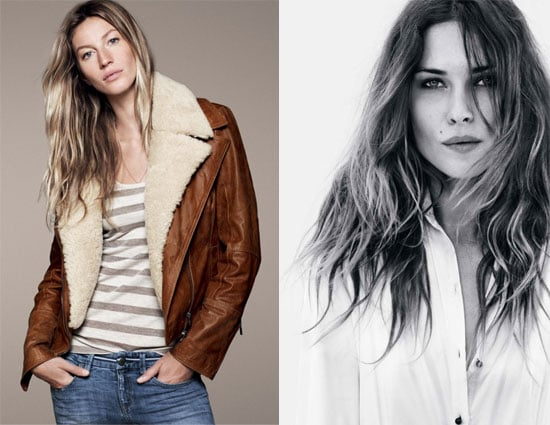 Gisele Bundchen and Erin Wasson Esprit Ad Autumn Winter 2011: See The Models at Work