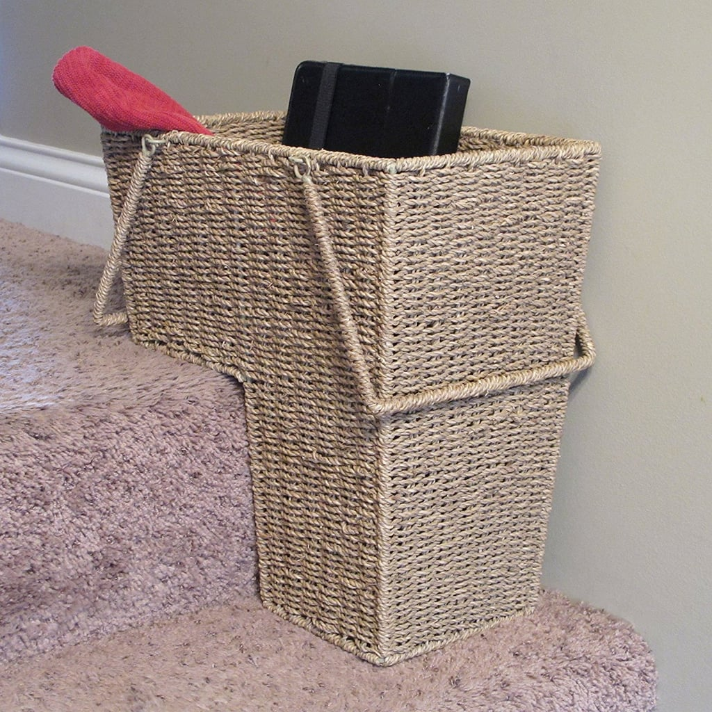 Household Essentials Seagrass Wicker Stair Step Basket With Handle ($32)