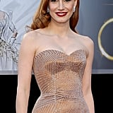 Jessica Chastain joined Crimson Peak, Guillermo del Toro's gothic haunted house movie. Emma Stone is also on board, and Benedict Cumberbatch signed on this week as well.