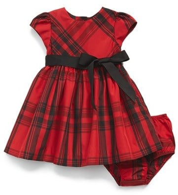 Ralph Lauren Plaid Taffeta Dress