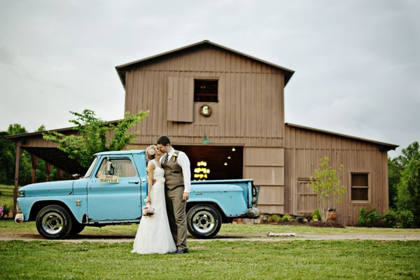 Rustic-Themed Wedding