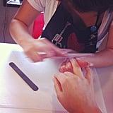 Getting a Manicure