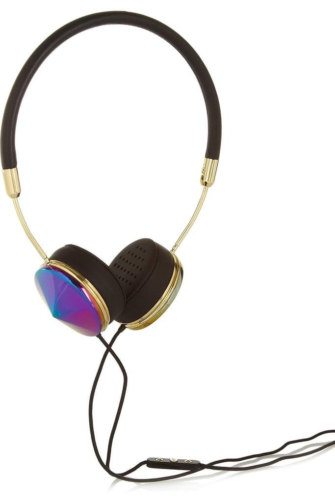Iridescent Metal Headphones