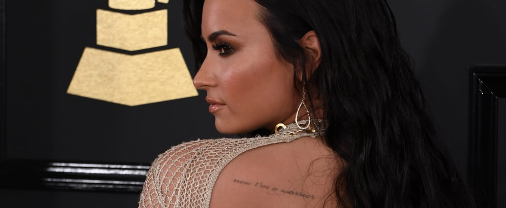 Look Closely or You Might Miss These Beautiful Celebrity Tattoos From the Grammys