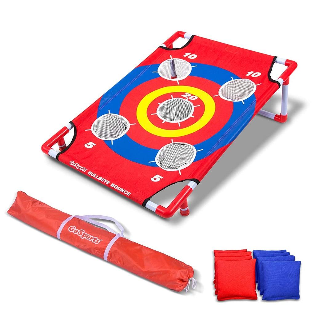 Bullseye Bounce Cornhole Toss Game