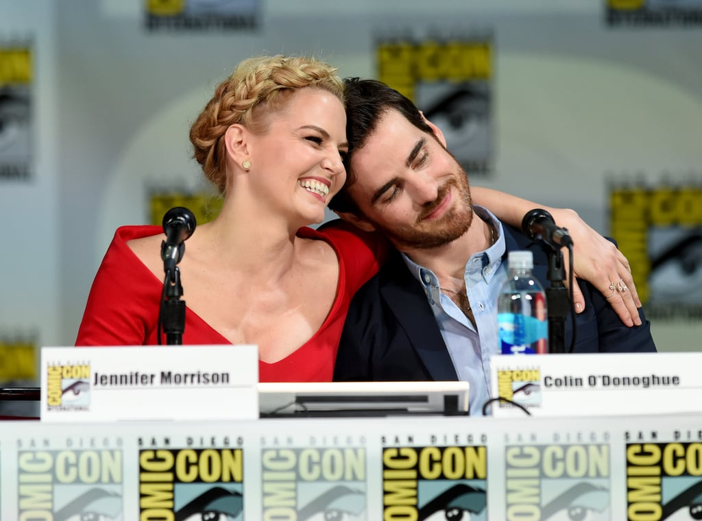?Jennifer Morrison and co-star Colin O'Donoghue