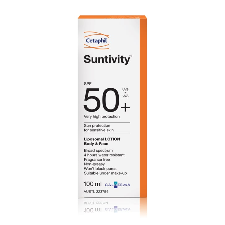 Cetaphil  Suntivity Lotion Body and Face SPF50+, $16.79