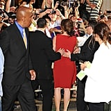 Fans lined up to see Jennifer Garner at the premiere of her new movie.