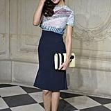 Olga Kurylenko at Christian Dior