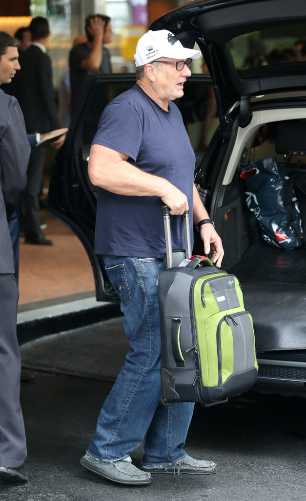 Ed O'Neill went to his hotel on Feb. 18.