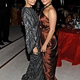 Nicole Richie and Hayden Panettiere attended Elton John's Oscars party in March 2012.