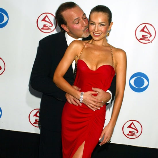 Thalia and Tommy Mottola Pictures
