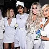 Pictured: Cyndi Lauper, Julia Michaels, Andra Day, Kesha, and Bebe Rexha