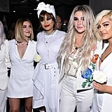 Pictured: Cyndi Lauper, Julia Michaels, Andra Day, Kesha, and Bebe Rexha