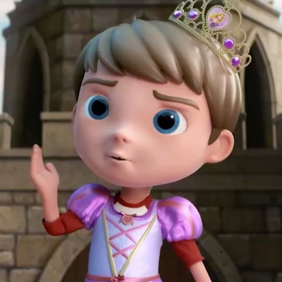 Toy Ad Features Boy Dressing Up as a Queen