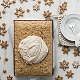 Brown Butter Pecan Sheet Cake With Spiced Cream Cheese Frosting