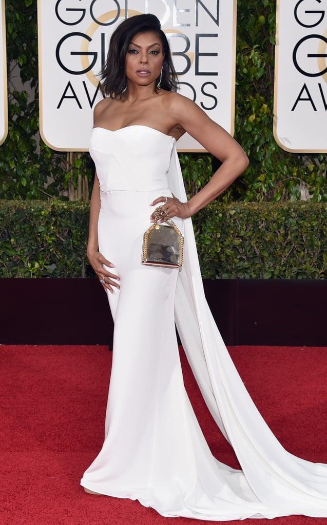 Taraji P. Henson in a strapless Stella McCartney dress