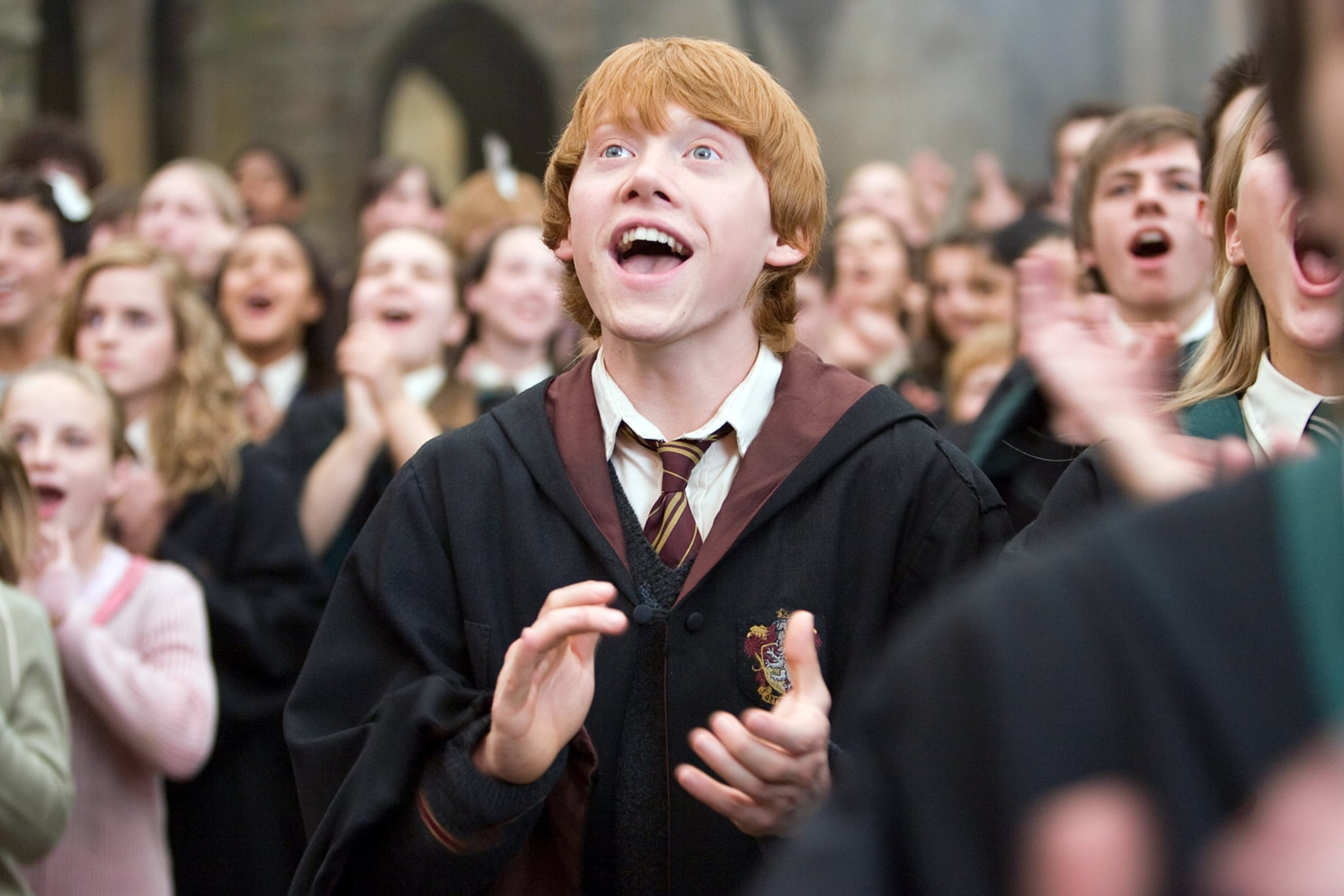 HARRY POTTER AND THE ORDER OF THE PHOENIX, Rupert Grint, 2007. Ph: Murray Close/Warner Bros./Courtesy Everett Collection