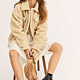 Free People Sherpa Trucker Jacket