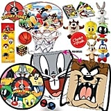 Looney Tunes Showbag ($26) Includes:  Target game  Drawstring backpack  Memory card game