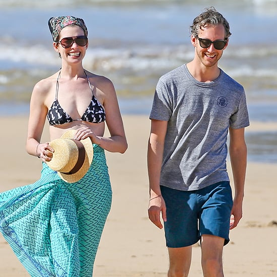 Anne Hathaway Bikini Pictures in Hawaii