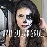 Half Sugar Skull — @allbeautybysarah