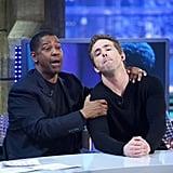 Denzel Washington and Ryan Reynolds