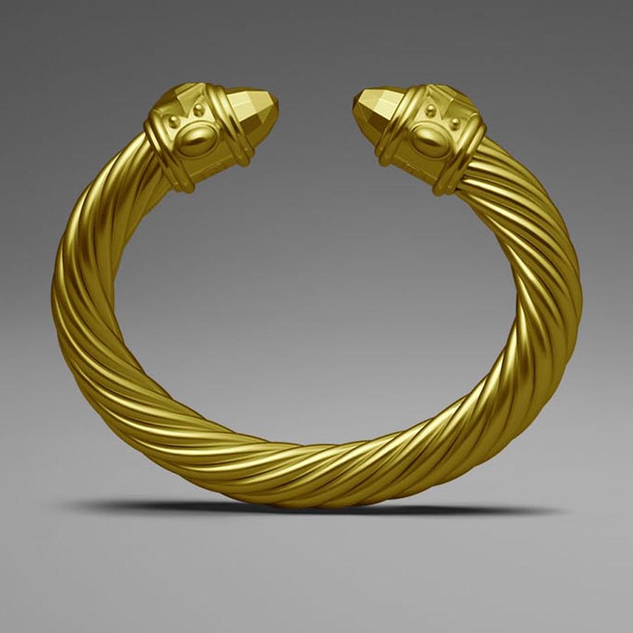 David Yurman Yellow Aluminum Cable Bracelet