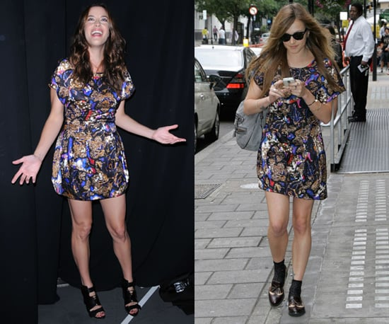 Photos of Fearne Cotton and Liv Tyler in Same Mulberry Autumn 2010 Dress