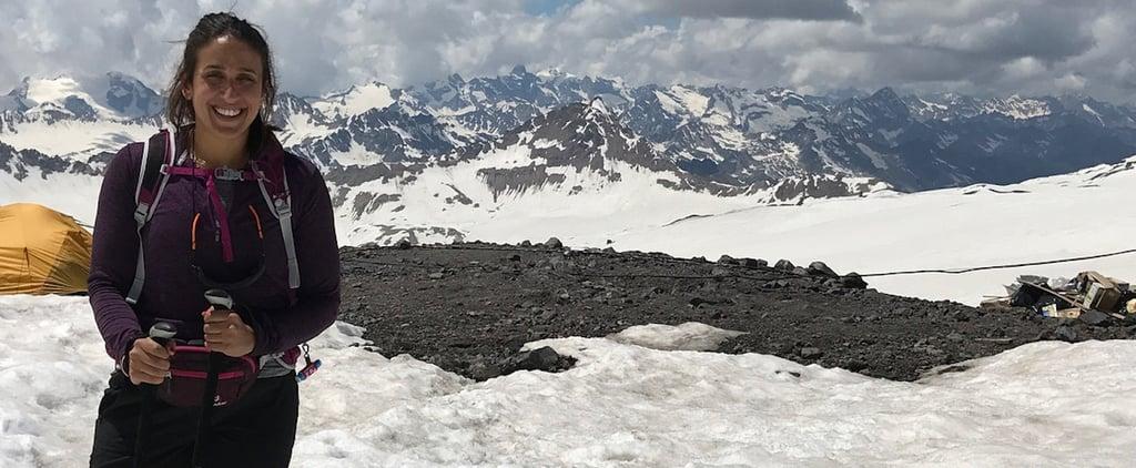 م لديها النمط الأول من داء السكري تتسلّق جبلاً وتشارك ببطولة