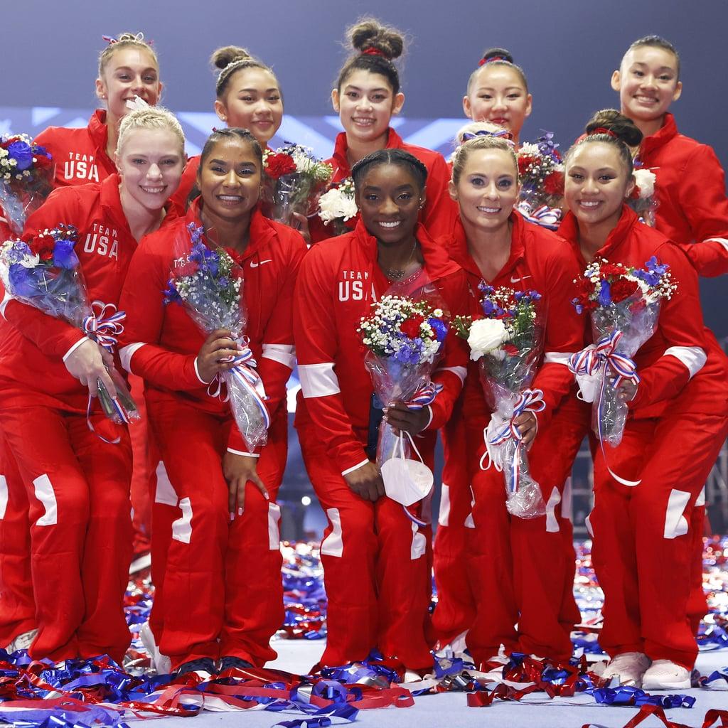 Meet The 2021 Us Women S Olympic Gymnastics Team Popsugar Fitness