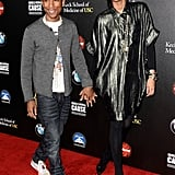Pharrell Williams and Helen Lasichanh Pictures
