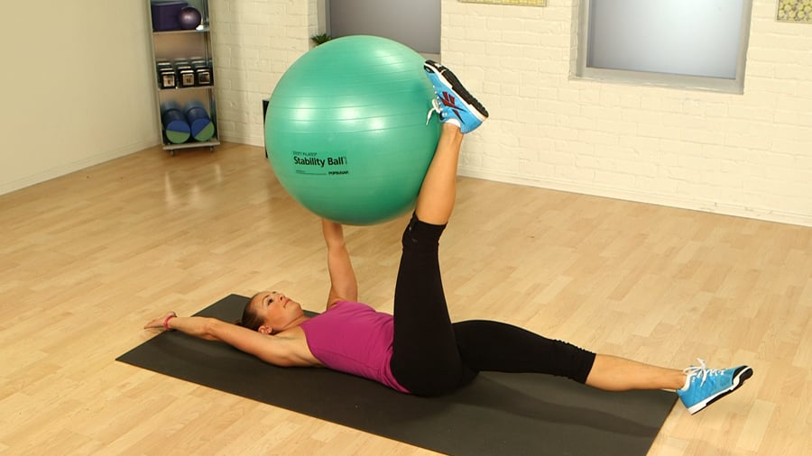Exceptionnel The Best Exercises to Do With a Stability Ball | POPSUGAR Fitness  FJ31
