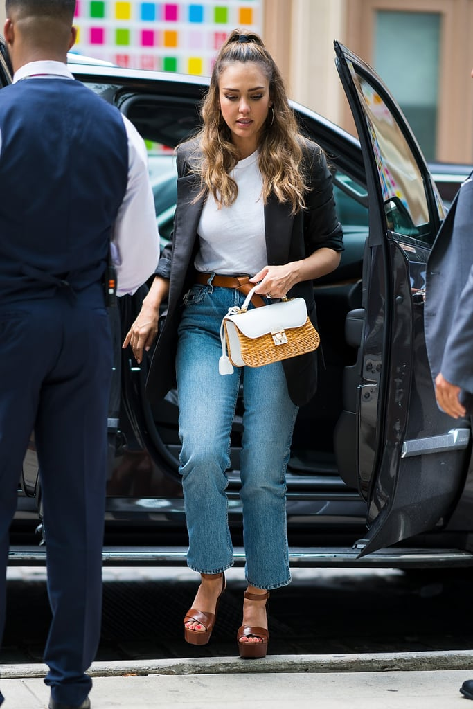 100 Ways to Wear Denim, Courtesy of Jessica Alba