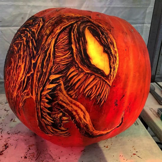 Venom Pumpkin Carvings