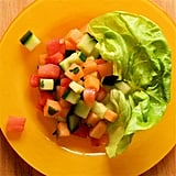 Melon and Cucumber Breakfast Salad With Mint Vinaigrette