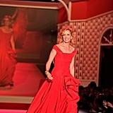 New York Fashion Week: Red Dress Heart Truth Fall 2010