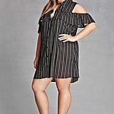 Forever 21 Plus Size Open-Shoulder Dress