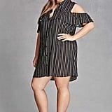 Forever 21 Plus Size Open-Shoulder Dress