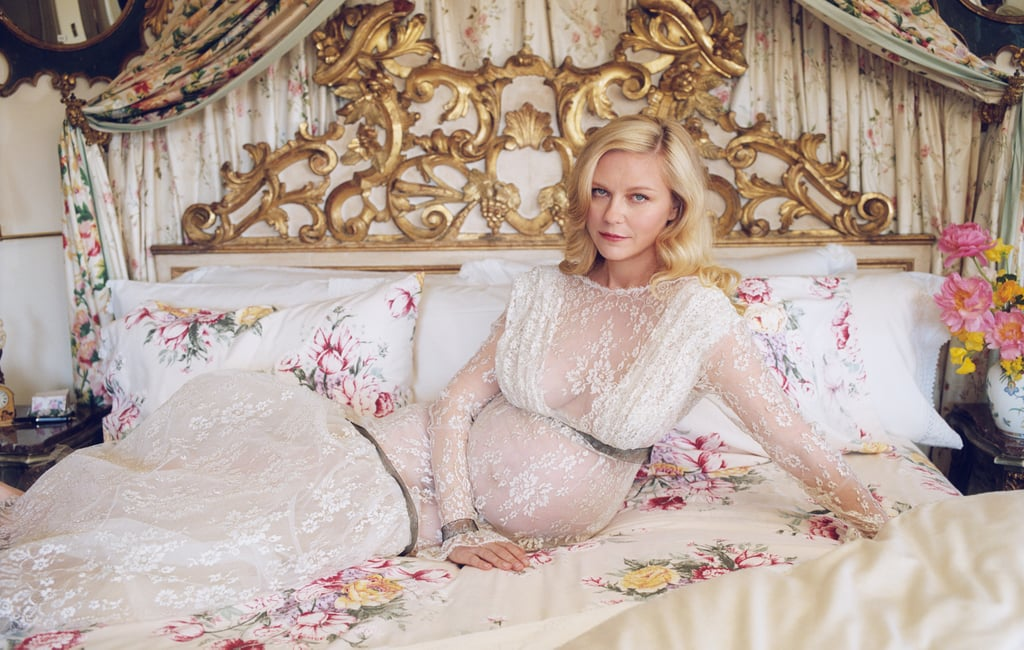 Kirsten Dunst Announces 2nd Pregnancy in White Rodarte Dress