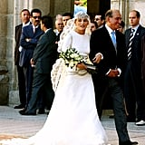 Luis Beltrán Ataulfo Alfonso Gómez-Acebo y Borbón and Laura Ponte The Bride: Laura Ponte y Martínez, a Spanish model who has worked for Valentino and Ralph Lauren. The Groom: Luis Beltrán Ataulfo Alfonso Gómez-Acebo y Borbón, nephew of Spanish King Juan Carlos I. When: Sept. 18, 2004. The couple is reportedly separated as of May 2010. Where: The royal palace of ‪La Granja de San Ildefonso‬, known as the Versailles of Spain, in Segovia.