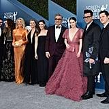 The Schitt's Creek Cast at the 2020 SAG Awards