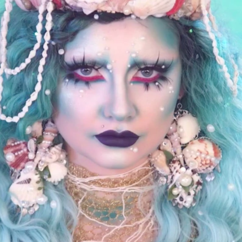 Dramatic Mermaid Makeup Tutorial | Halloween | POPSUGAR Beauty