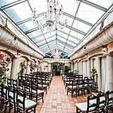 Restaurant Courtyard Wedding