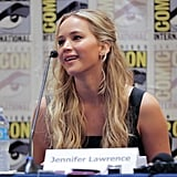 """In 2015, she talked to The New York Times about how hard it is not to Google herself: """"You try being 22, having a period, and staying away from Google. I once Googled 'Jennifer Lawrence Ugly.' [Laughs] Do I sound bitchy?"""""""