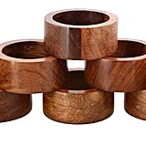 ShalinIndia Handmade Wood Napkin Rings